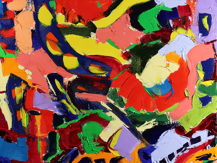 Personal Practice (Coursework, Part 1): (Ex: 1.3) Practical work: Four paintings: 1) In the style of
