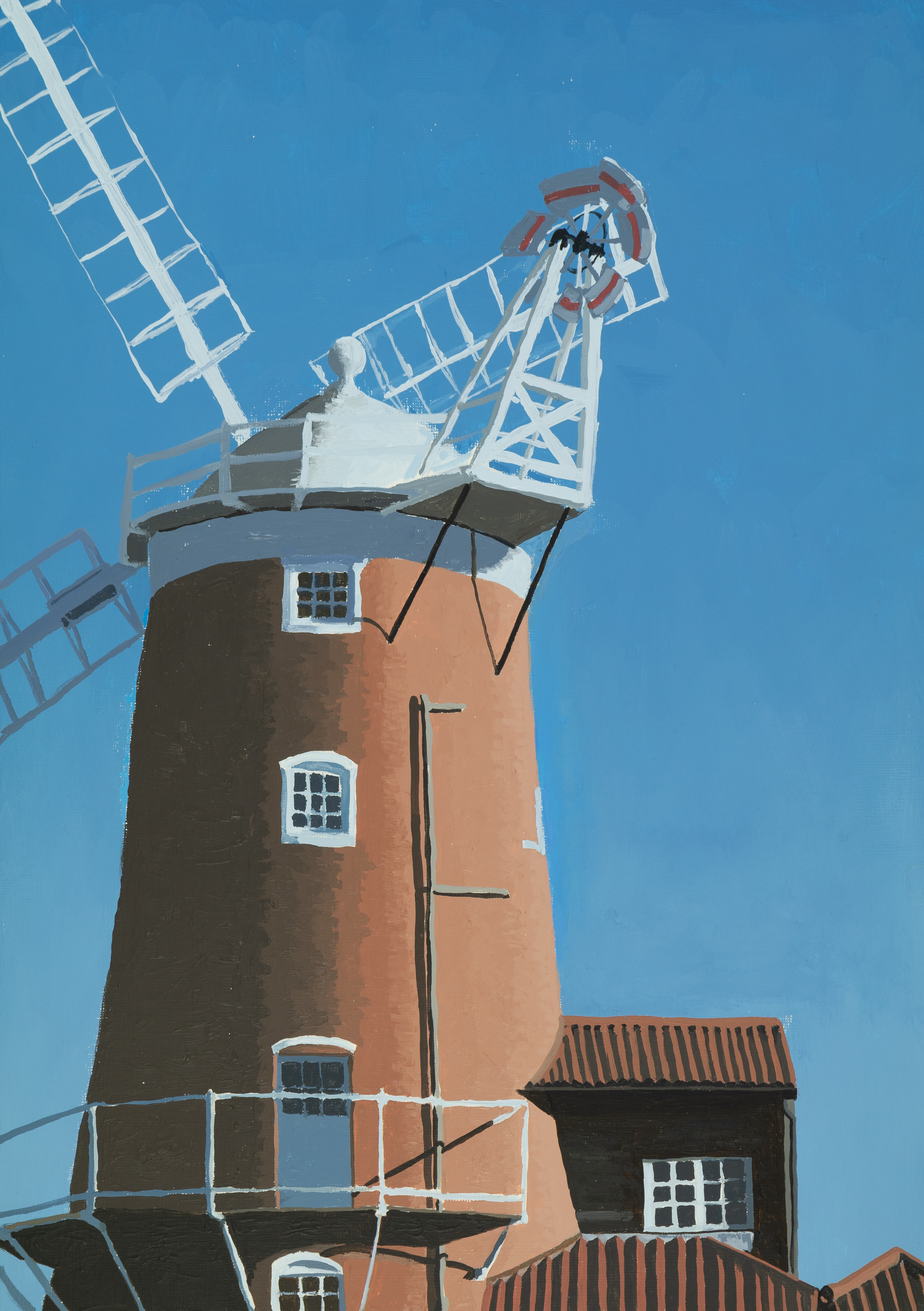 Cley Windmill Early Morning