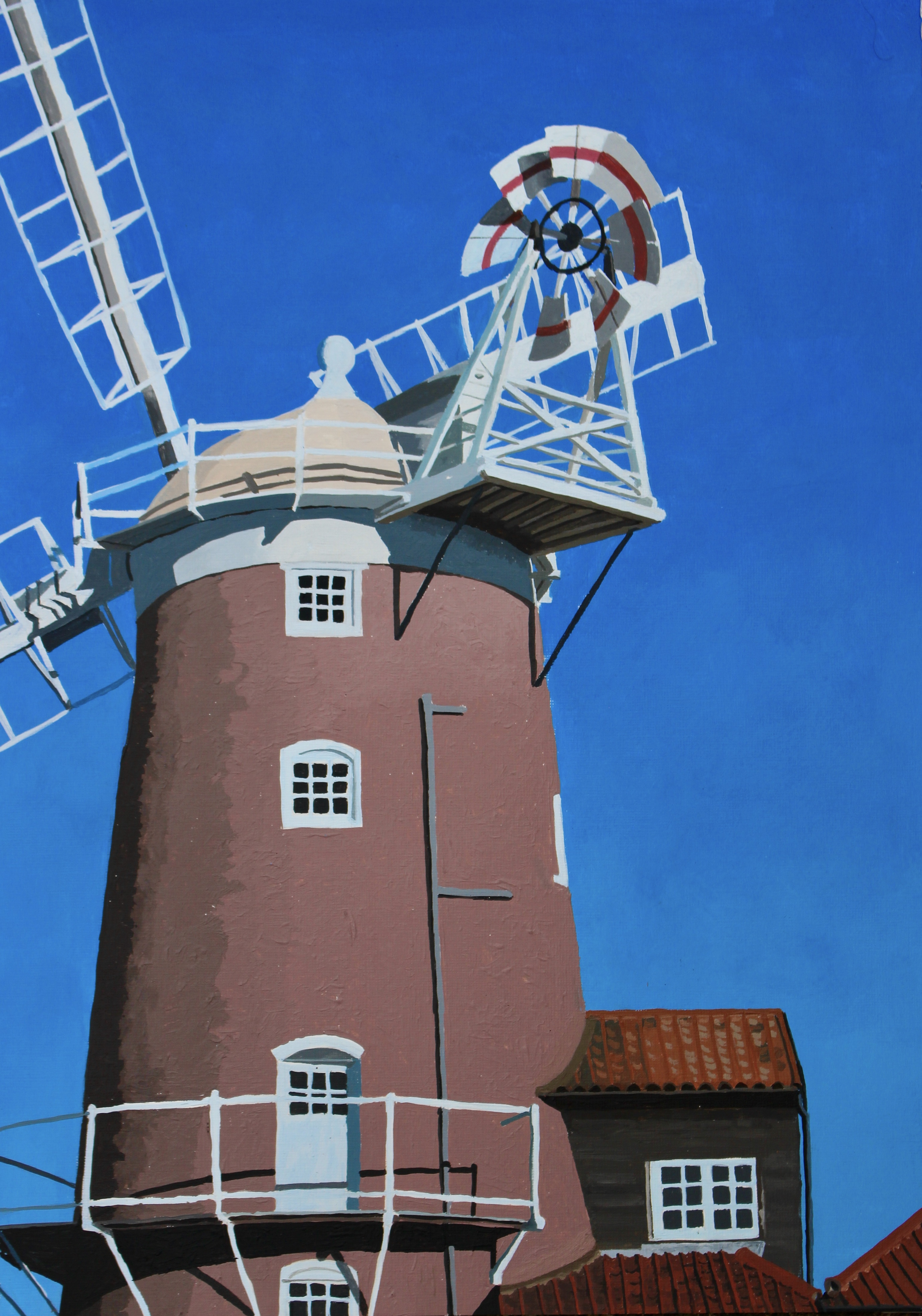 Cley Windmill Midday