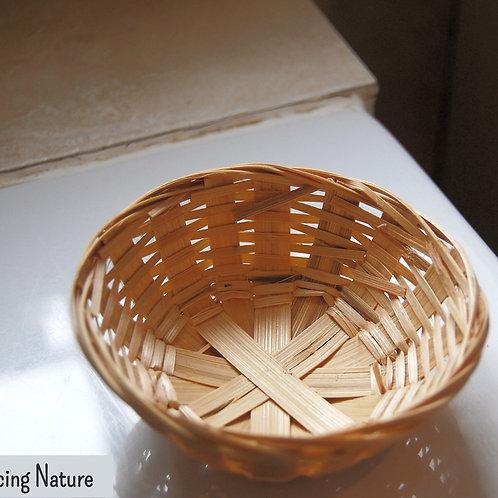 Round soap basket