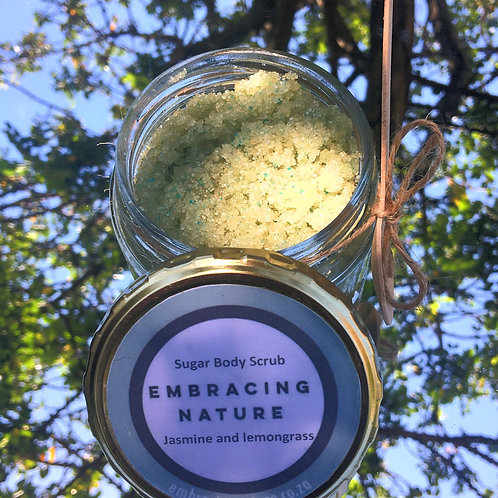 Jasmine and Lemongrass Body Scrub