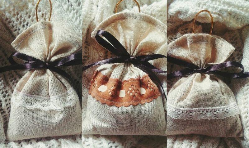 túi vải mềm buộc hạt cafe