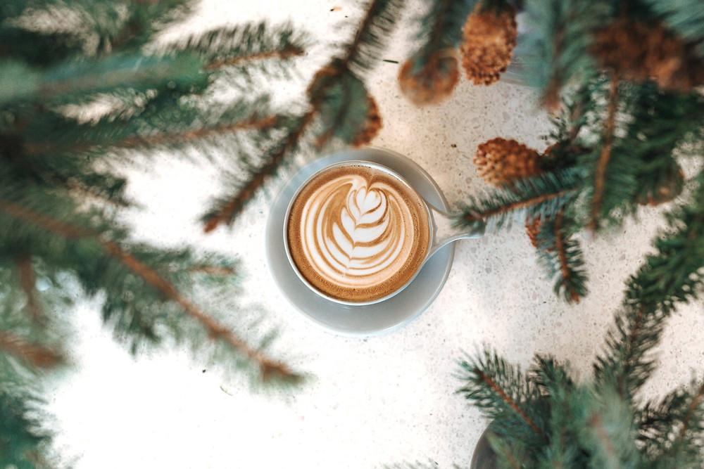 cốc cafe cappuccino trang trí đẹp