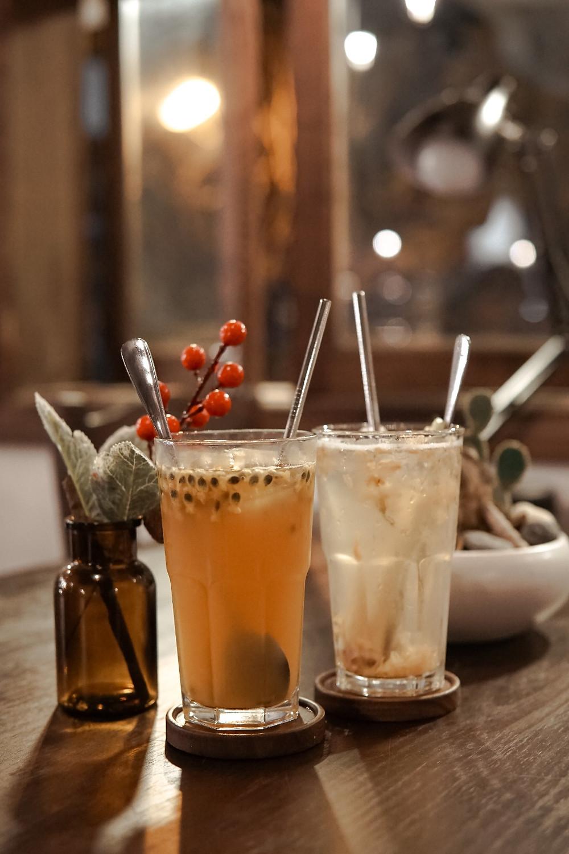 trà chanh tại cafe Nhà Trong Ngõ