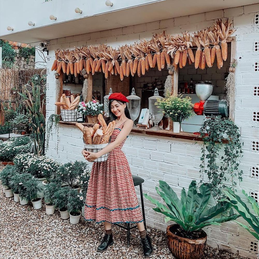 ảnh chụp quán cafe ở Đà Lạt