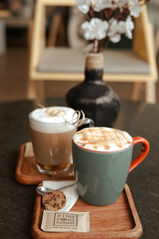 Cafe và trà tại PingPong Cafe