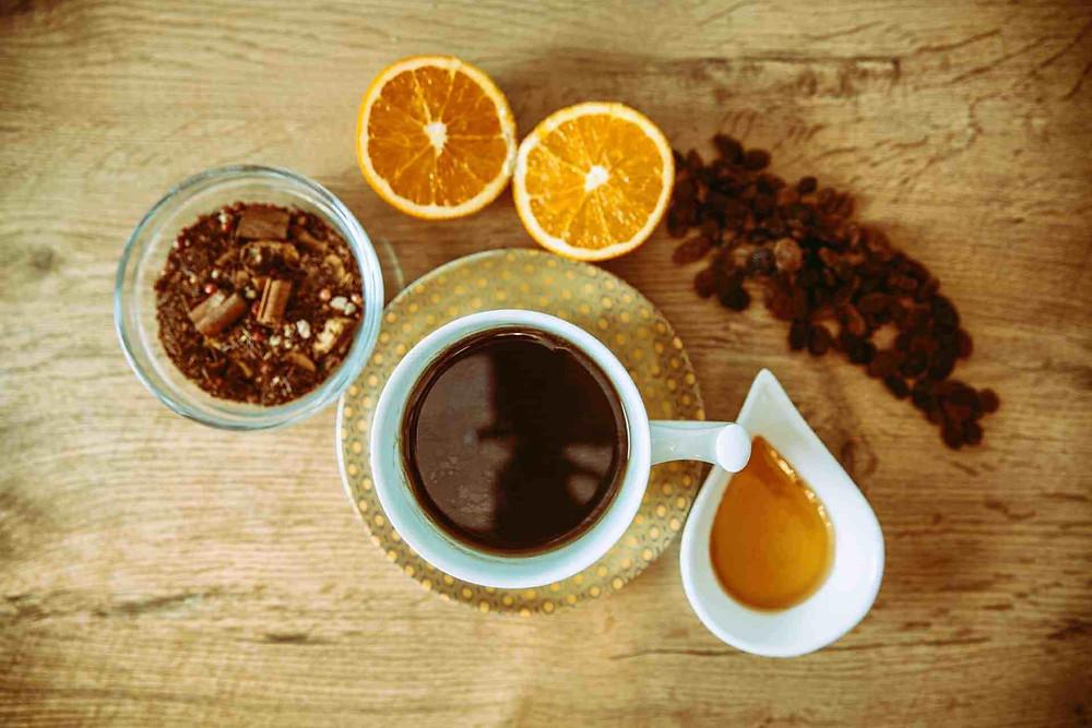 nguyên liệu pha chế cafe mật ong