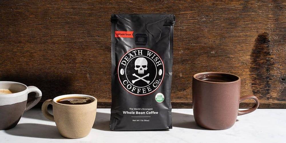 một gói death wish coffee