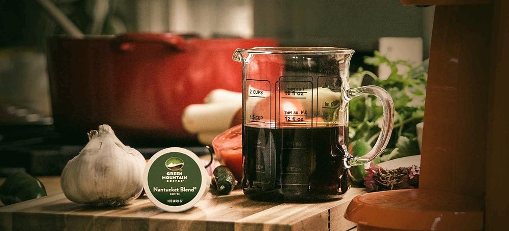 cốc cafe dùng làm gia vị nấu ăn