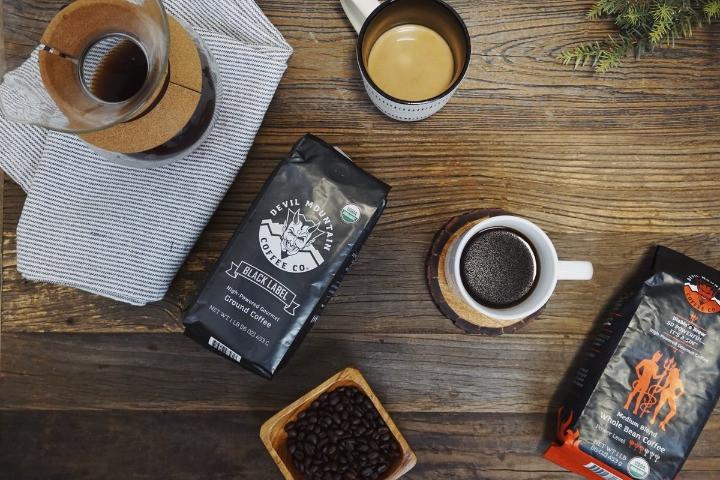 black label coffee của Devil Mountain