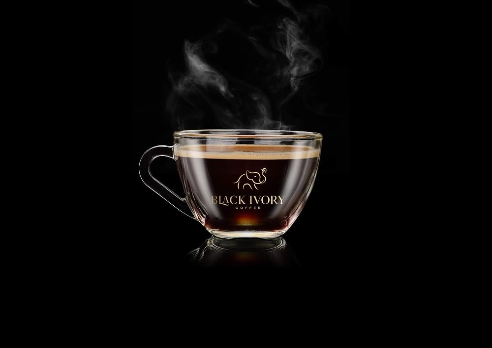 một cốc cafe Black Ivory từ Thái Lan