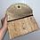 Thumbnail: Blue Pom Pom clutch bag