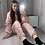 Thumbnail: Pink ruched tracksuit