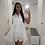 Thumbnail: White embroidered dress