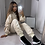 Thumbnail: Cream ruched tracksuit