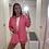 Thumbnail: Pink shirt & shorts set