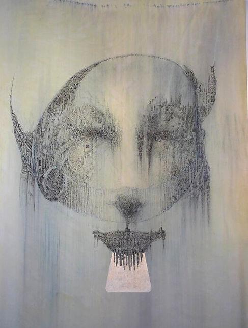 Untitled fountain pen artwork drawing by Celio Bordin