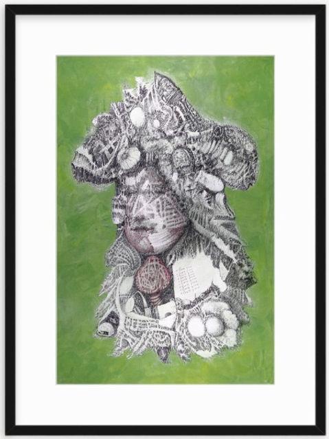 Doubt of Love Artwork Print by Celio Bordin