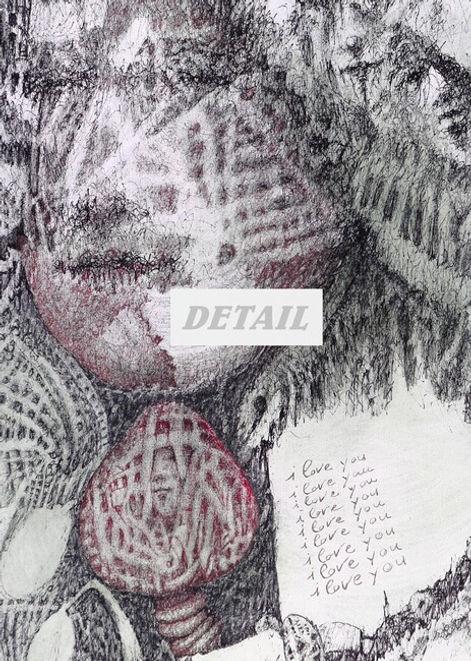 Detail - Doubt of Love Artwork print by Celio Bordin