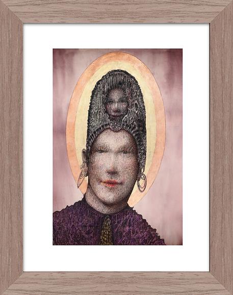 Saint Due Artwork Print by Celio Bordin