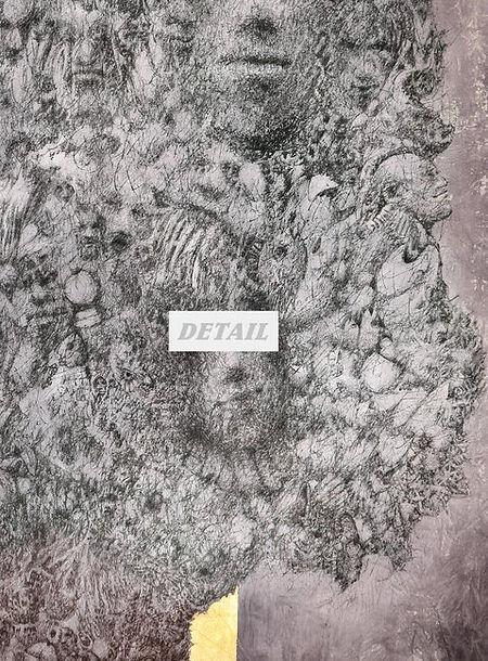 dETAIL - Tree of Native Peoples Artwork Print by Celio Bordin