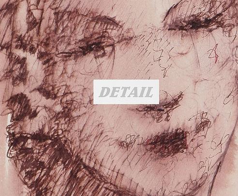 Detail of Pink Woman - Artwork Print by Celio Bordin