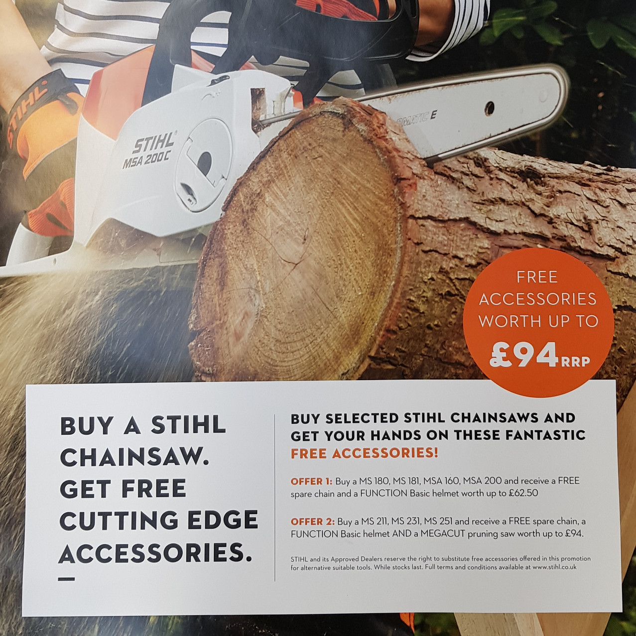 Stihl Chainsaw Deals