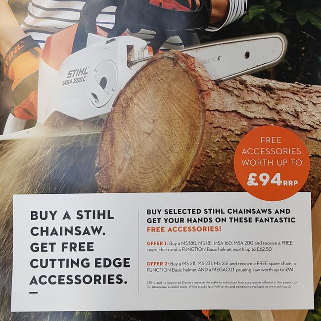 Stihl Chainsaw Deals