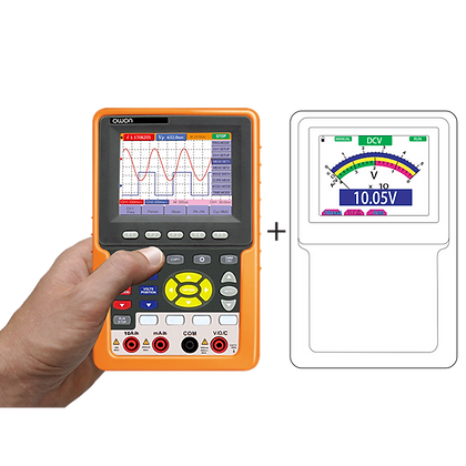 HDS3102M-N 2 Channel Handheld Oscilloscope & Multimeter 100MHz 1GS/s