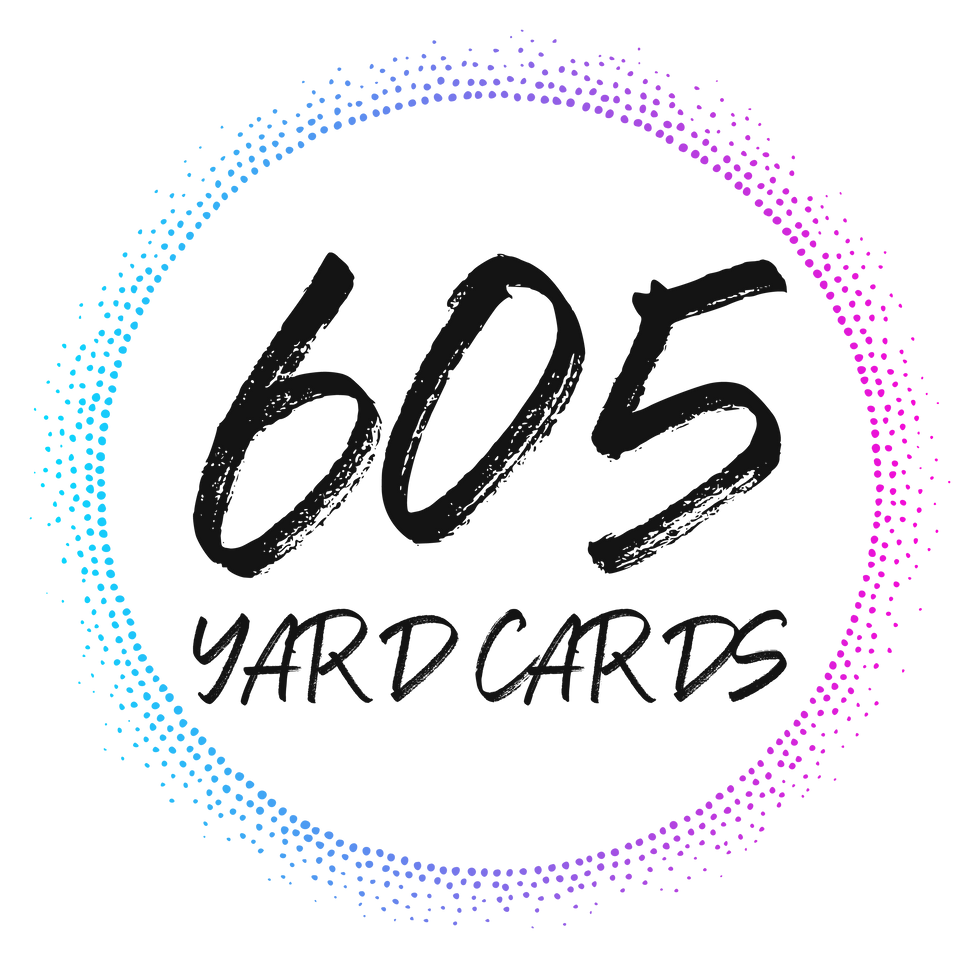 605 Yard Cards Logo