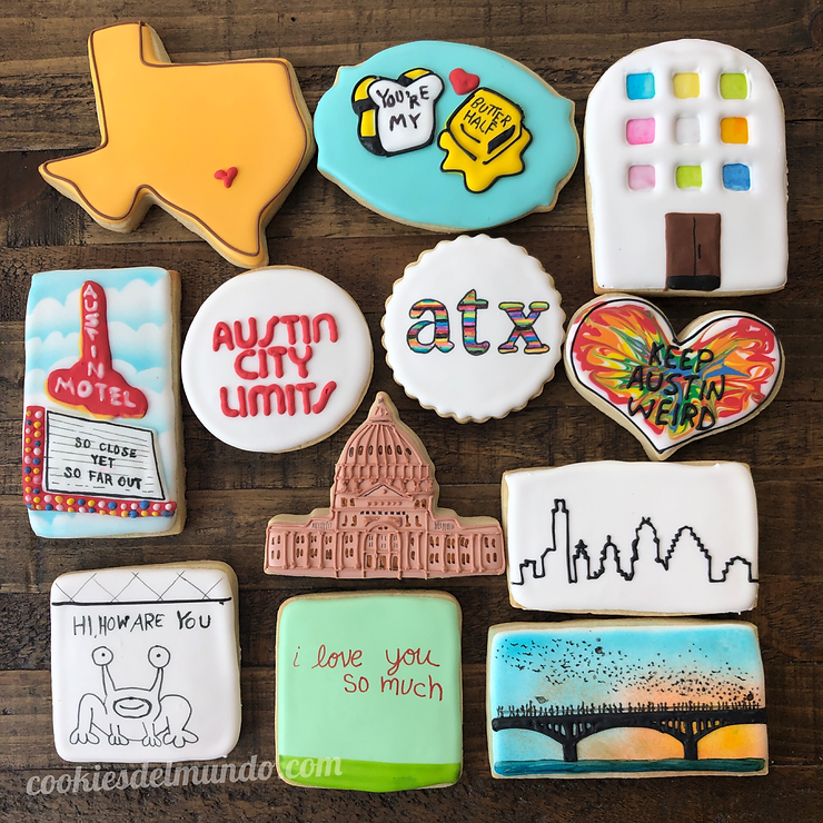 Austin Texas Cookies
