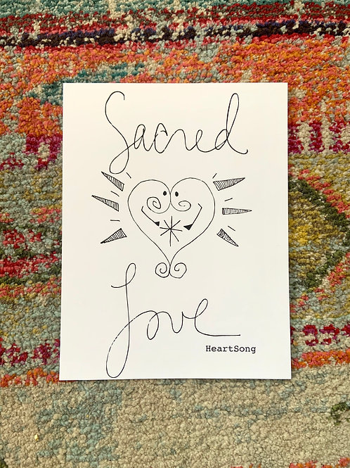 Sacred Love Poster