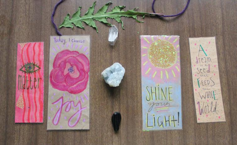 Free Spirit Press Bookmarks