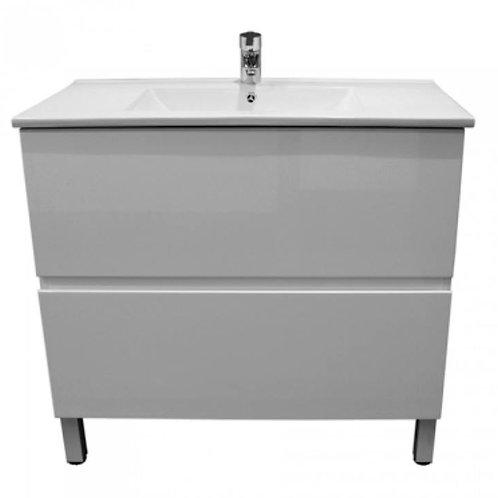 900mm Double-Drawer Vanity Unit
