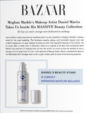 reparative moisture emulsion- is clinica