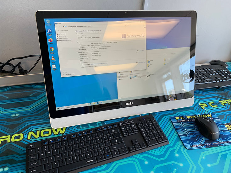 Dell All-in-one touchscreen PC
