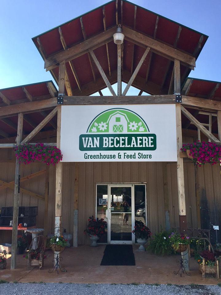Van Becelaere Alum sign