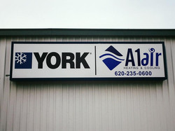 A1Air backlit sign