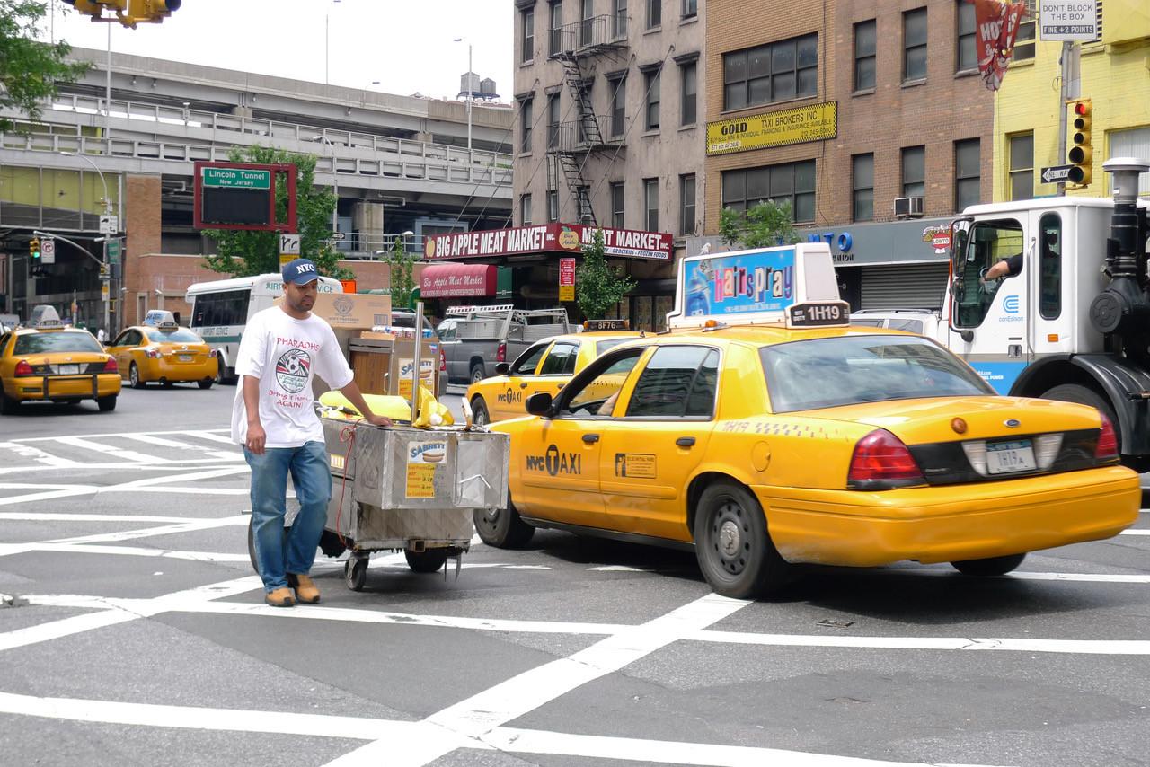 City of Hustlers, e.g. cabbies & street vendors