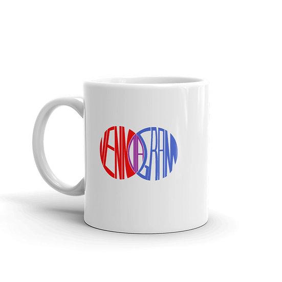 Dataviztypography - Venn Diagram - Mug