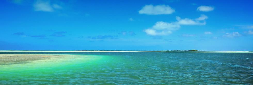 Kiribas lagoon