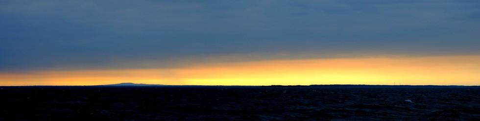 Dawn on Lake Vannern