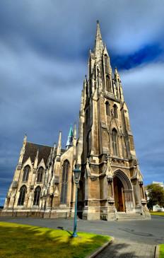Dunedin Church, NZ