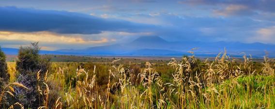 Volcanic massif