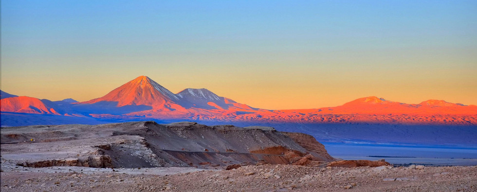 Sunset on the Andes