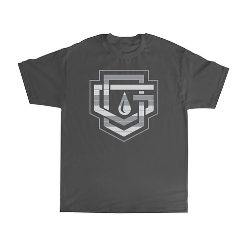 OG FAMILY: CASCADING - CHARCOAL T-SHIRT