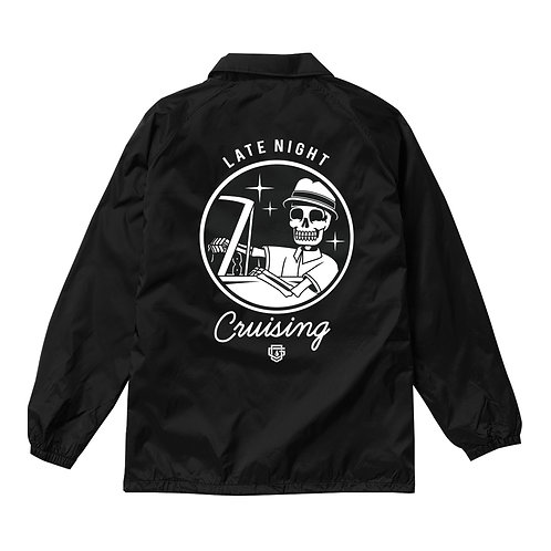 OG FAMILY: LATE NIGHT CRUISING BLACK JACKET