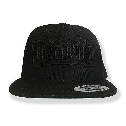 ORIGINALS MAGAZINE : TAG HAT (all black)