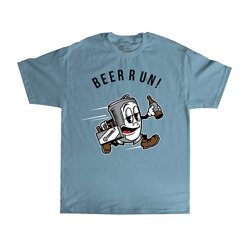 OG FAMILY: BEER RUN - CAROLINA T-SHIRTCOLOR