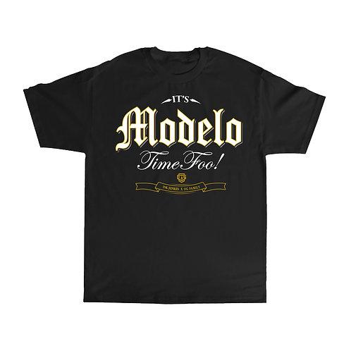 OG FAMILY: MODELO - BLACK T-SHIRT